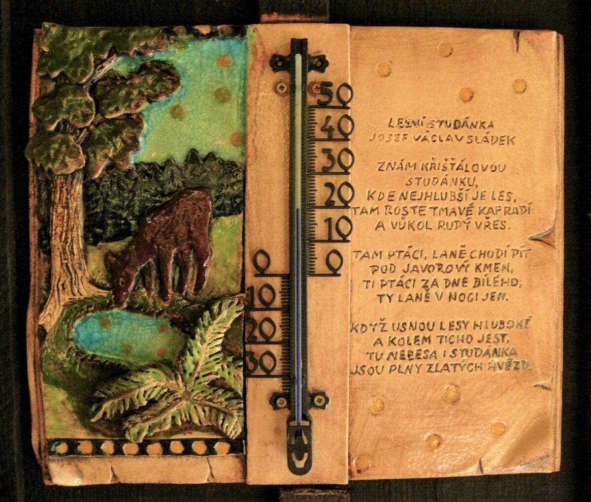 Venkovní teploměr Lesní studánka